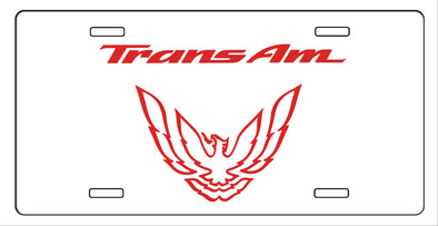 Pontiac Firebird, Trans Am, Formula Metal License Plate  93-97 Style Bird