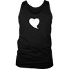 Heart Quote Bubble District Mens Tank - What's Your Heart Saying?