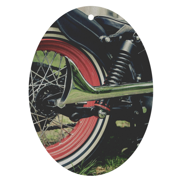 Vintage Motorcycle Wheel Air Freshener - 3 Pack - Choose From 13 Scents