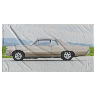 Pontiac GTO Classic Muscle Car Beach Towel