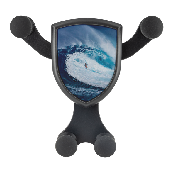 wireless cell phone car charger gravitis custom graphics surfing surfer big wave surfing