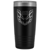 Trans Am Limited Edition Screaming Chicken Etched 20 Ounce Vacuum Tumbler - Black - Multiple Color Options