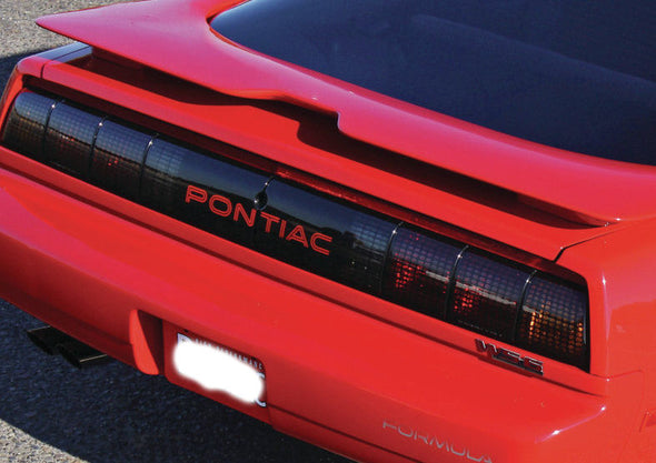 Tail light Decal Replacement Fits Pontiac GTA Trans Am 91-92