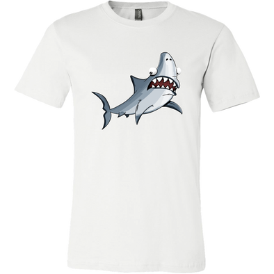Shark Mens Canvas Shirt - Multiple Sizes & Colors