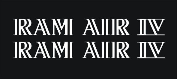 Ram Air IV or Ram Air Decals Pontiac Firebird Trans Am 1969-70 Replacement