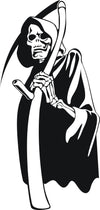 Custom Large Grim Reaper Car, Truck Window Decal