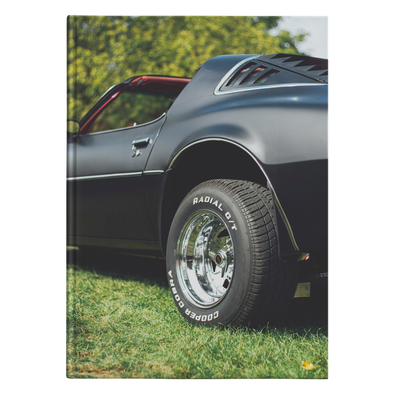 Classic Muscle Car Hardcover Journal 5.75x8 and 7x10 Sizes 150 Perforated Pages