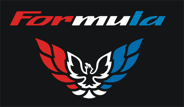 Limited Edition Custom Patriotic Red White & Blue Tail Light Filler Decal Fits Pontiac Firebird Formula 1998-02