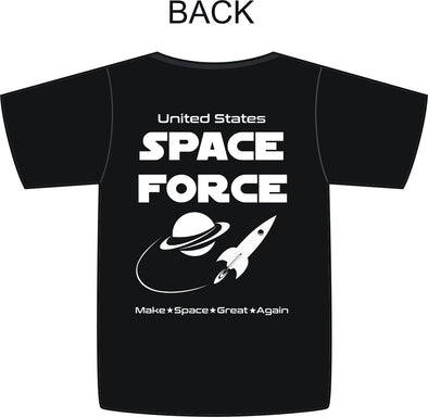 T Shirt USSF Space Force Make Space Great Again