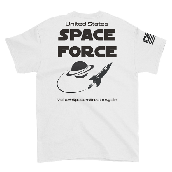 United States Space Force Make Space Great Again T-Shirt