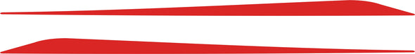 Red Lower Rocker Panel Graphics Decals fits 2010-2015 Chevy Camaro #graphics