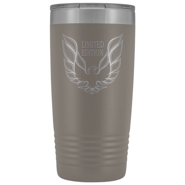 Trans Am Limited Edition Screaming Chicken Etched 20 Ounce Stainless Steel Vacuum Tumbler - Multiple Color Options