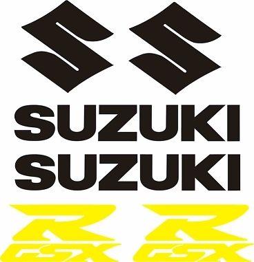 Suzuki GSX Decal Set