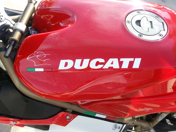Gas Tank Decal Set Fits Ducati 748 916