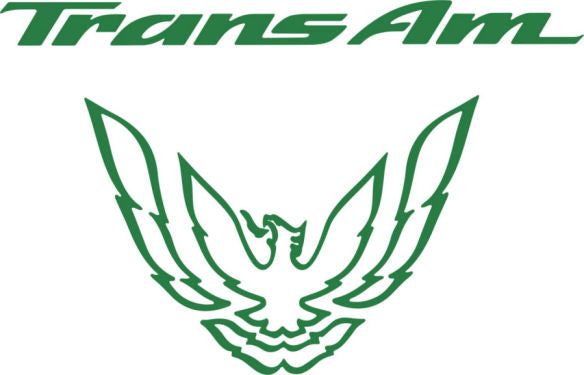 Green Rear Tail Light Decal Fits Pontiac Trans Am Firebird Formula - 1993 to 1997 Style Bird