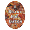 I Brake For Bacon Scented Air Freshener - 3 Pack - Choice of 13 Scents