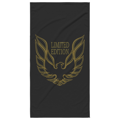 Limited Edition Trans Am Screaming Chicken Beach Towel - Black