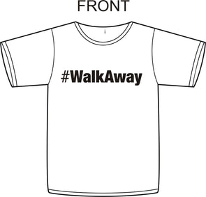 #Walkaway Political T Shirt