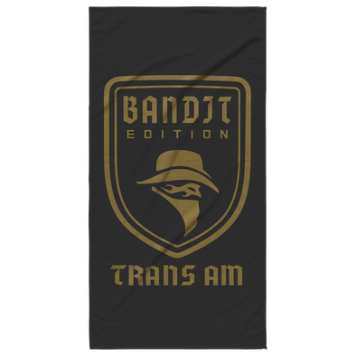 Bandit Edition Trans Am Emblem Beach Towel