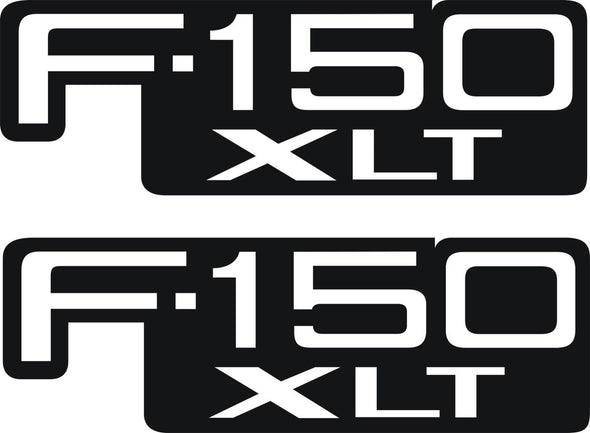 XLT 150 Fender, Hood Decals Fits Ford