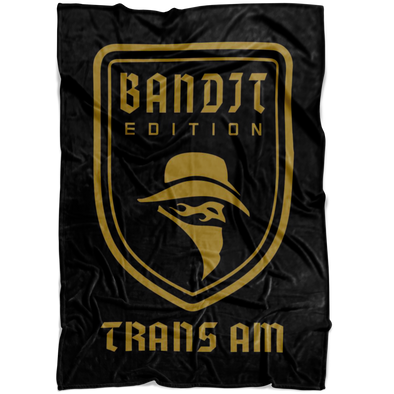 Bandit Edition Trans Am Microfiber Fleece Blanket - Small, Medium or Large Sizes