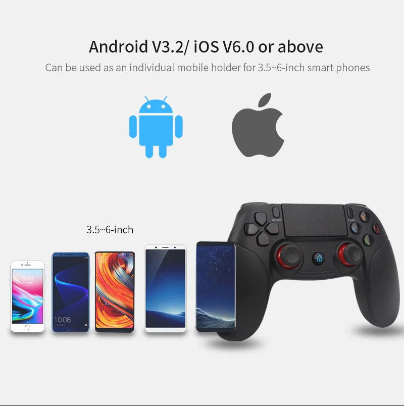 Bluetooth Smartphone Gamepad Android Controller for Android PC Smart TV
