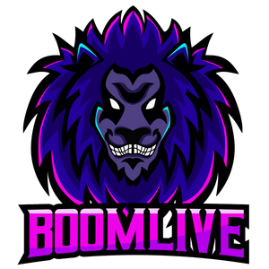 BoomLive Logo Sticker