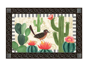 Road Runner and Cactus MatMate DoorMat