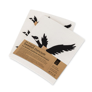 The Amazing Swedish Canada Goose Dishcloths (Set of 2)