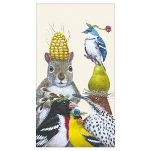 Party Under The Feeder Guest Towels / Buffet Napkins