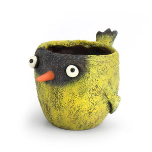 Goldfinch Bird Planter