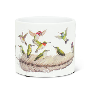 NEW!  Hummingbirds Planter (Small)