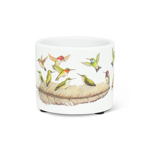 NEW!  Hummingbirds Planter (Extra Small)