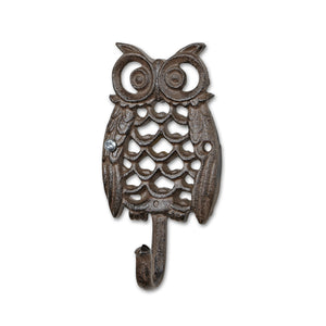 Single Owl Wall Hook