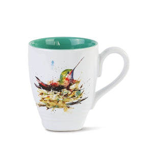 Dean Crouser Hummingbird in Nest Mug-1