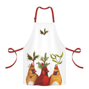 Cardinals Holiday Party Apron