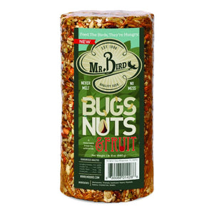 Mr. Bird Bugs, Nuts & Fruit Seed Cylinder