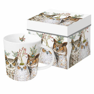 Holiday Hoot Gift-Boxed Mug