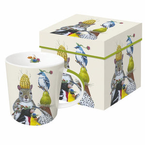 Party Under The Feeder Gift-Boxed Mug