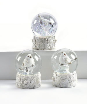 Mini Snow Bird Water Globe, Choose from 3 Assorted Designs