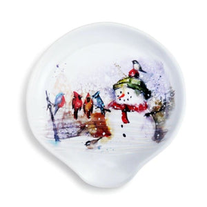 Dean Crouser Winter Friends Spoon Rest