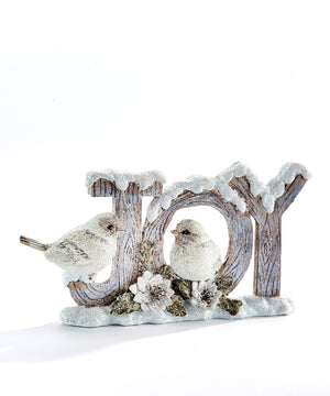 White Birds in Joy Figurine
