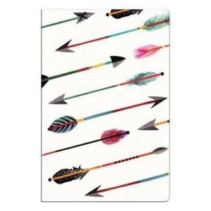Front Cover of Colorful Arrows Mini Notebook included in this Set