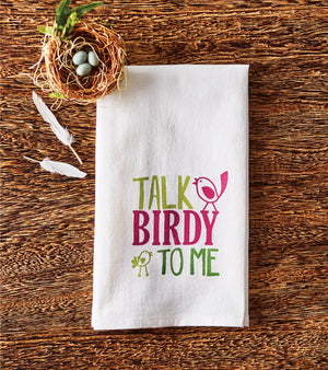 Talk Birdy to Me Towel