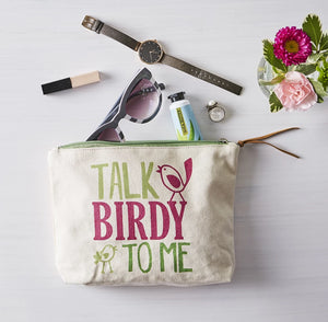 Talk Birdy to Me Cosmetic Bag