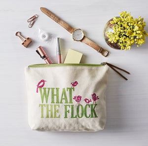 What the Flock Cosmetic Bag
