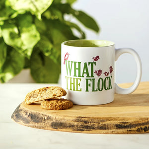 What the Flock Ceramic Mug