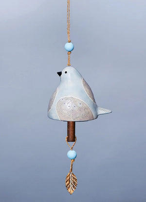 Bird Song Collection Dove Ceramic Bell