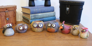NEW!  Baby Bird Mini Planters - Choose from 7 different birds!