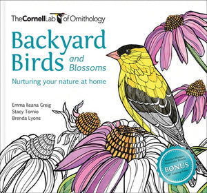 Backyard Birds and Blossoms Coloring Book: Nurturing Your Nature at Home